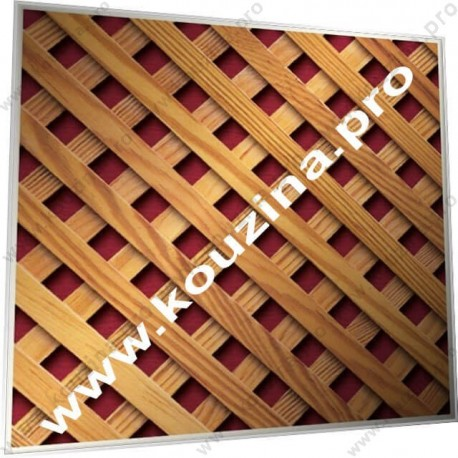 ΞΥΛΙΝΑ ΚΑΦΑΣΩΤΑ ΠΛΕΓΜΑΤΑ - ΛΟΞΟ ΚΑΒΑΛΗΤΟ 10x10 (507-R06)
