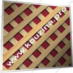 ΞΥΛΙΝΑ ΚΑΦΑΣΩΤΑ ΠΛΕΓΜΑΤΑ - ΛΟΞΟ ΚΑΒΑΛΗΤΟ 20x20 (507-R222)